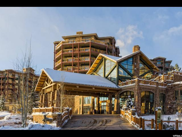 3000 Canyons Resort Dr 10-702, Park City, UT 84098 (#1574858) :: Big Key Real Estate