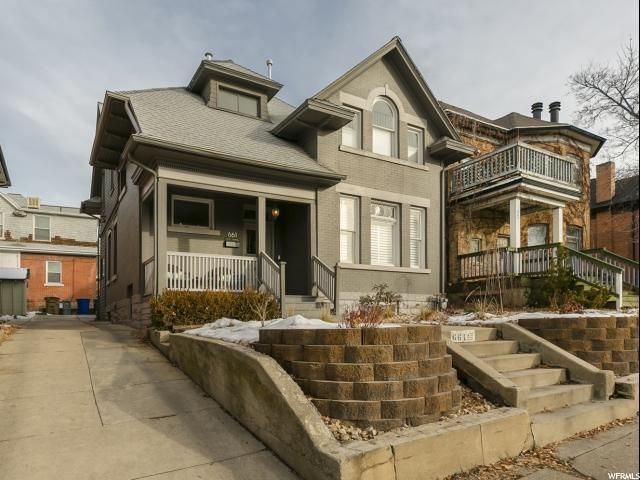 661 E Third Ave, Salt Lake City, UT 84103 (#1574979) :: Colemere Realty Associates