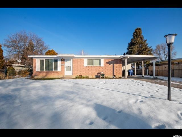 3530 W Christy Ave S, West Valley City, UT 84119 (#1575182) :: Red Sign Team