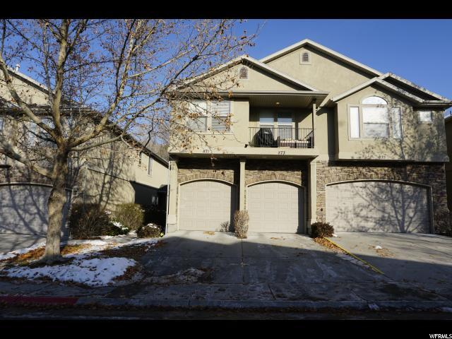 871 E Red Sage Ln, Murray, UT 84107 (#1575404) :: Colemere Realty Associates