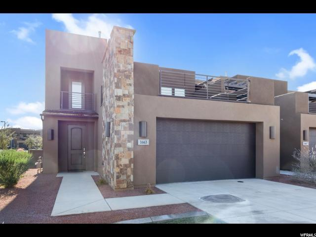 1663 W Caledonia Dunes Dr, St. George, UT 84770 (#1575576) :: Bustos Real Estate   Keller Williams Utah Realtors