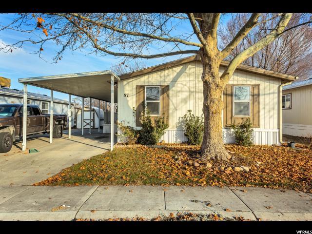 1025 N 300 W #57, Springville, UT 84663 (#1575665) :: Colemere Realty Associates