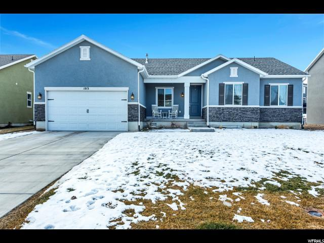 103 E Wildcat Ln, Saratoga Springs, UT 84045 (#1575687) :: Red Sign Team