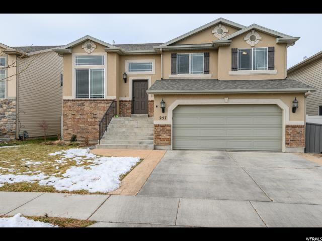 257 N Walton Dr W, North Salt Lake, UT 84054 (#1575740) :: The One Group