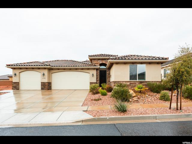 2701 Bella Sol Dr, Santa Clara, UT 84765 (#1576130) :: Bustos Real Estate | Keller Williams Utah Realtors