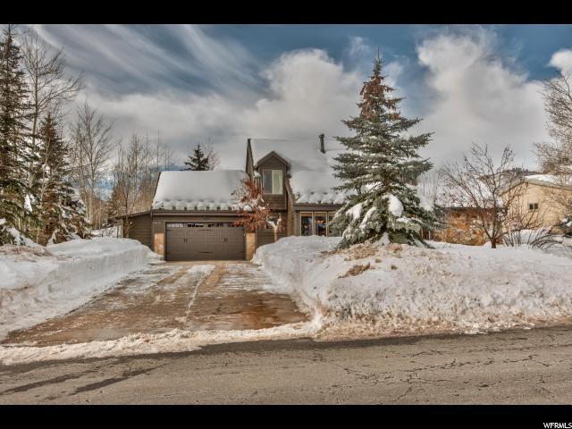 8725 N Silver Spur Rd, Park City, UT 84098 (MLS #1577832) :: High Country Properties