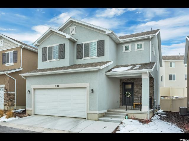 297 W Willow Creek Dr S, Saratoga Springs, UT 84045 (#1579232) :: Colemere Realty Associates