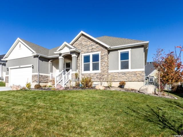 876 W Mountain Peak Dr, Saratoga Springs, UT 84045 (#1579398) :: The Fields Team