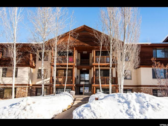 1600 W Pinebrook Blvd F-5, Park City, UT 84098 (MLS #1579412) :: High Country Properties