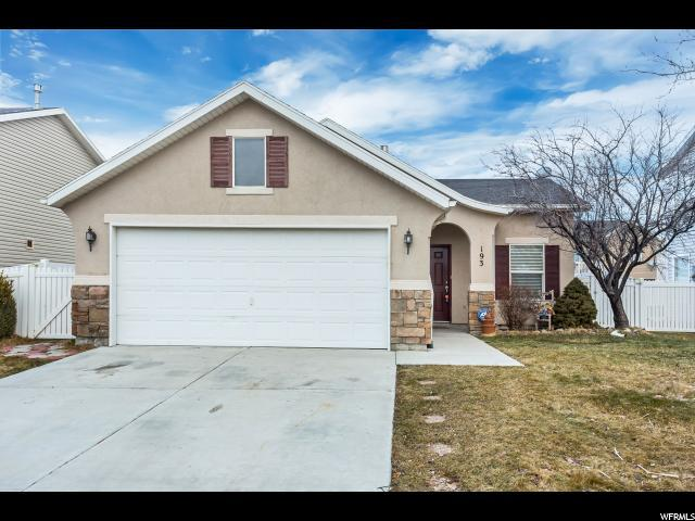 193 E Interlochen Ln N, Stansbury Park, UT 84074 (#1579660) :: The Fields Team