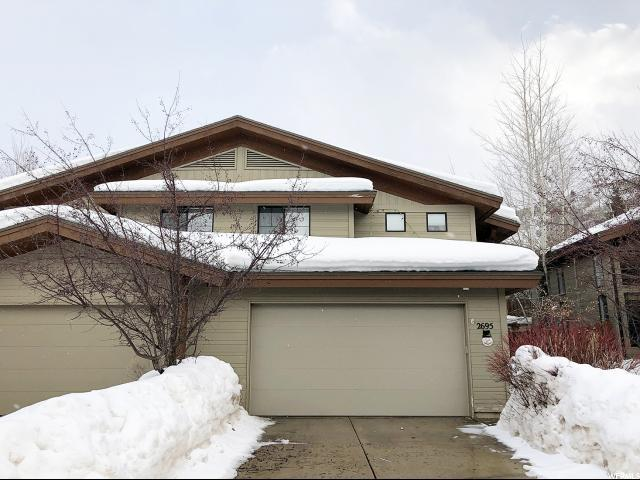2695 Cottage Loop, Park City, UT 84098 (MLS #1579957) :: High Country Properties