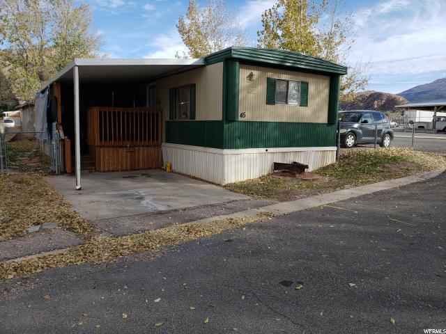 1700 N Main Street St N #45, Cedar City, UT 84721 (#1580222) :: Colemere Realty Associates