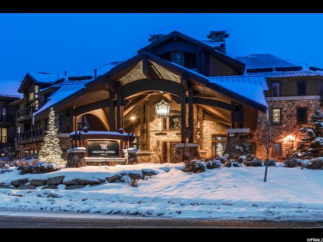 2100 Frostwood Blvd #3176, Park City, UT 84098 (#1580892) :: Colemere Realty Associates