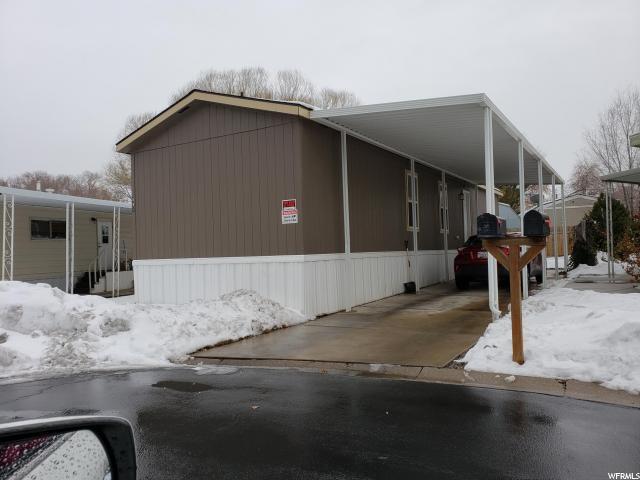881 Mount Nebo Dr S #253, Taylorsville, UT 84123 (#1580894) :: Red Sign Team