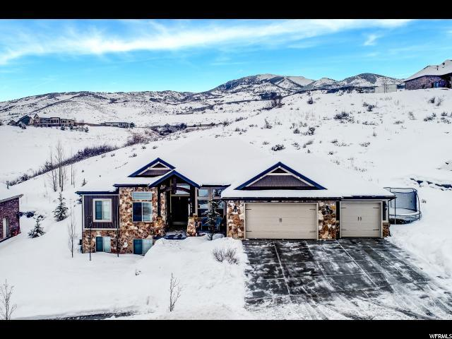 5960 N Hidden Hills Dr, Mountain Green, UT 84050 (#1581220) :: goBE Realty