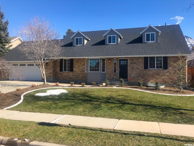 8399 S Snow Basin Dr, Sandy, UT 84093 (#1581386) :: Bustos Real Estate | Keller Williams Utah Realtors