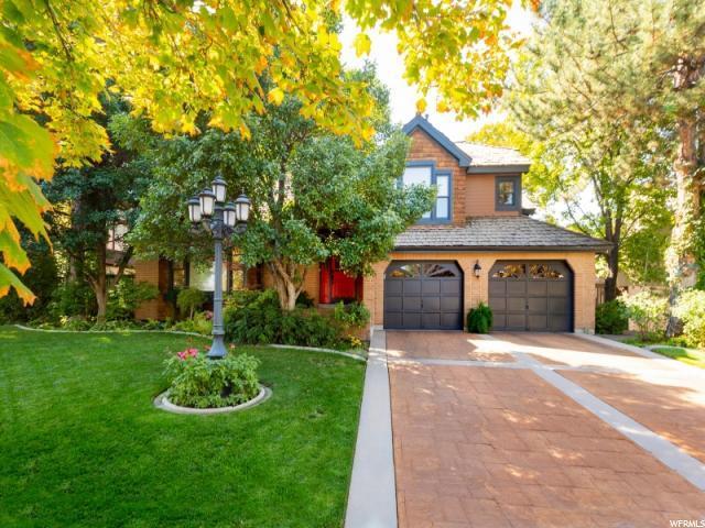 380 E Bridlewalk Ln, Murray, UT 84107 (#1581543) :: Bustos Real Estate   Keller Williams Utah Realtors