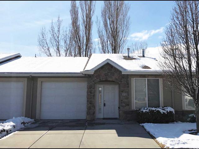 695 W Villa Bluff Dr, Sandy, UT 84070 (#1581571) :: Bustos Real Estate | Keller Williams Utah Realtors
