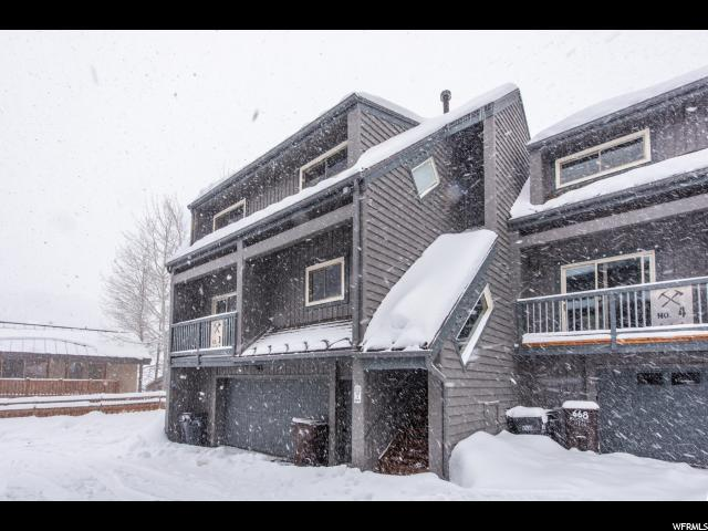 664 Rossi Hill Dr #3, Park City, UT 84060 (#1582198) :: Big Key Real Estate