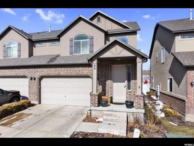 80 W Condor Rd, Saratoga Springs, UT 84045 (#1582629) :: Colemere Realty Associates