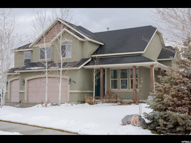 832 N Buffalo Dr W, Saratoga Springs, UT 84045 (#1582689) :: Colemere Realty Associates