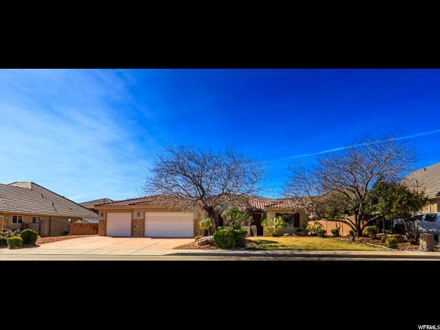 1864 S 2780 E, St. George, UT 84790 (#1583090) :: Bustos Real Estate | Keller Williams Utah Realtors