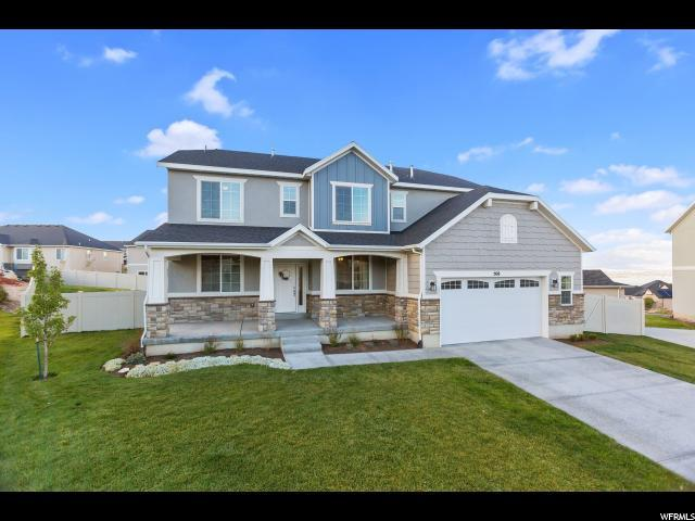 508 W Fox Creek Cir, Saratoga Springs, UT 84045 (#1583171) :: The Canovo Group