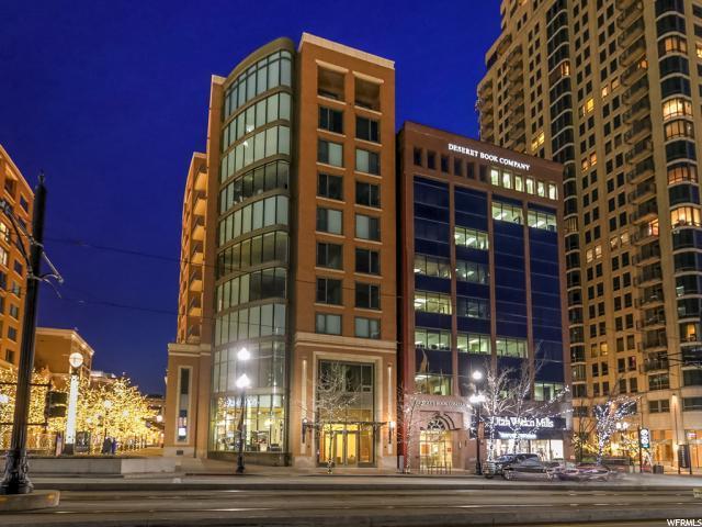 55 W South Temple St #204, Salt Lake City, UT 84101 (MLS #1583231) :: Lawson Real Estate Team - Engel & Völkers
