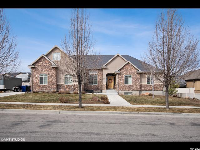 6216 W Heritage Hill Dr, Herriman, UT 84096 (#1583765) :: The Canovo Group