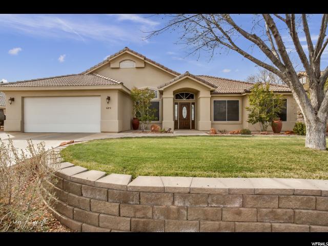 627 N 2330 E, St. George, UT 84790 (#1583881) :: Bustos Real Estate | Keller Williams Utah Realtors