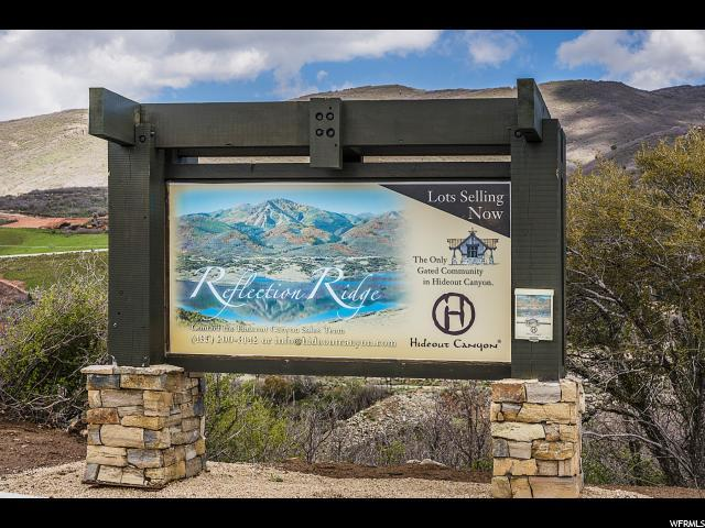 10643 N Reflection Ridge Ln, Hideout, UT 84036 (#1584131) :: Doxey Real Estate Group