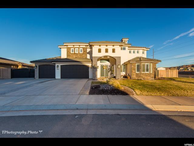 3067 S Poplar Ln, St. George, UT 84790 (#1584430) :: Bustos Real Estate | Keller Williams Utah Realtors