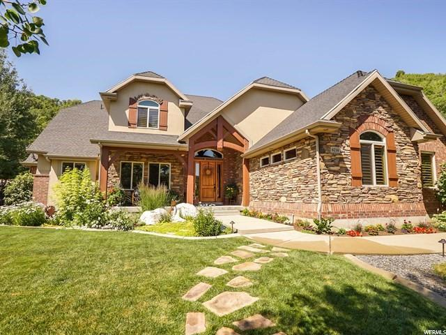 6214 N Creekside Dr W, Mountain Green, UT 84050 (#1584460) :: Keller Williams Legacy