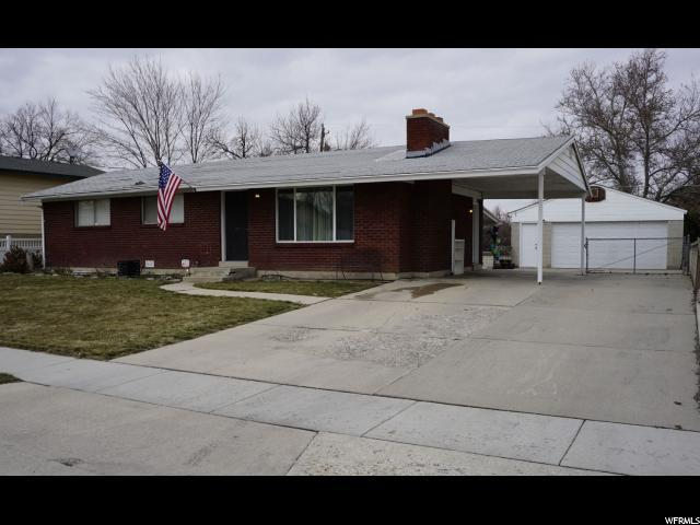 3142 W Minuet Ave S, West Valley City, UT 84119 (#1584561) :: Big Key Real Estate