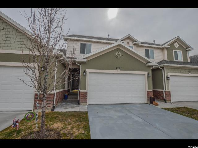 1727 W Hollow Cedar Ln S, Riverton, UT 84065 (#1584856) :: Red Sign Team