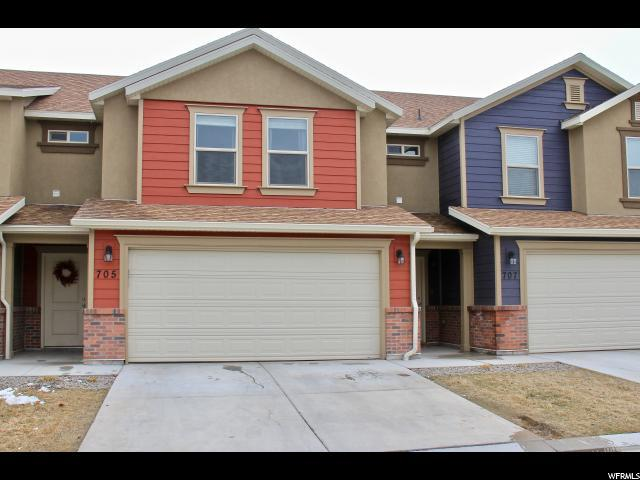 705 S 220 Pvfl W #27, Spanish Fork, UT 84660 (#1584921) :: Big Key Real Estate