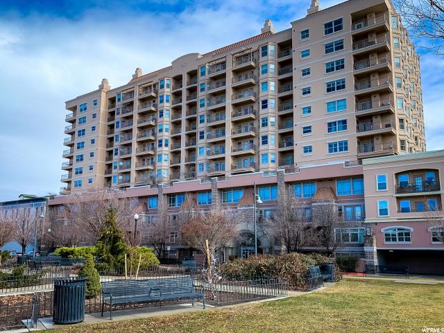 5 S 500 W #1015, Salt Lake City, UT 84101 (#1585264) :: Big Key Real Estate