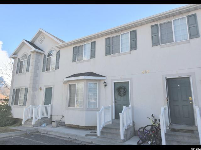 445 W 400 NORTH #6, Provo, UT 84601 (#1585809) :: Bustos Real Estate | Keller Williams Utah Realtors
