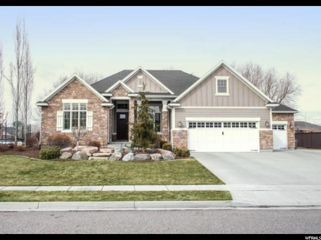 1208 S Tylers Way W, Kaysville, UT 84037 (#1586002) :: Keller Williams Legacy