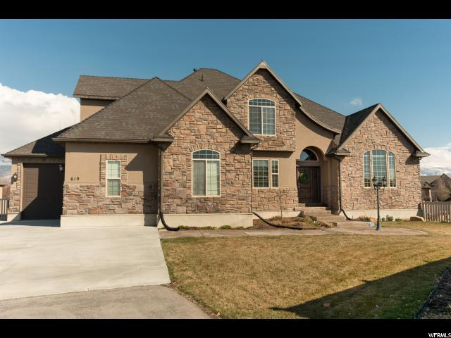 619 S Wellington Dr W, Kaysville, UT 84037 (#1586081) :: Bustos Real Estate | Keller Williams Utah Realtors