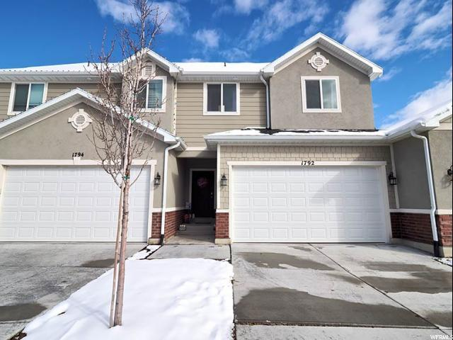 1792 W Hollow Cedar Ln W, Riverton, UT 84065 (#1586546) :: Red Sign Team
