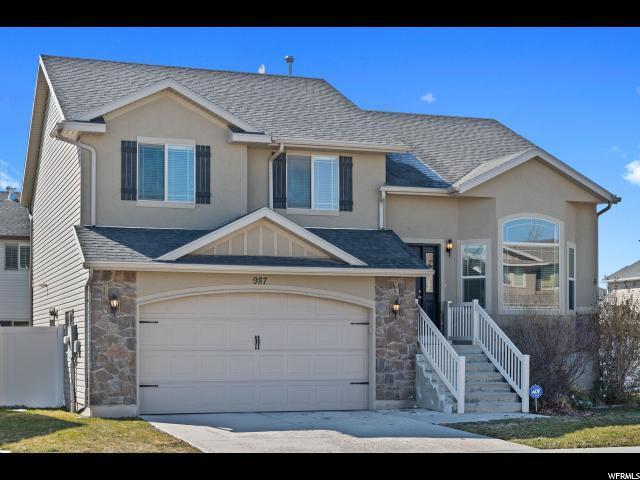 987 Chatham Dr, North Salt Lake, UT 84054 (#1586933) :: Bustos Real Estate | Keller Williams Utah Realtors