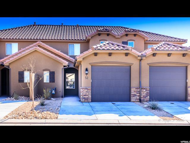 325 N Red Stone Rd #52, Washington, UT 84780 (#1587502) :: Big Key Real Estate