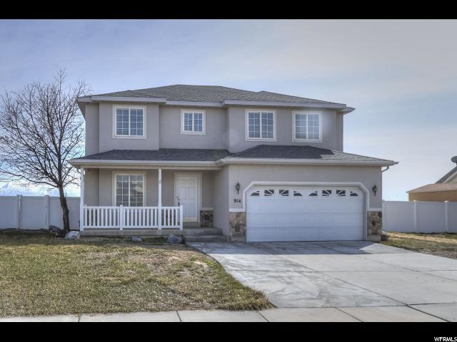 914 N Buffalo Dr W, Saratoga Springs, UT 84045 (#1587634) :: Colemere Realty Associates