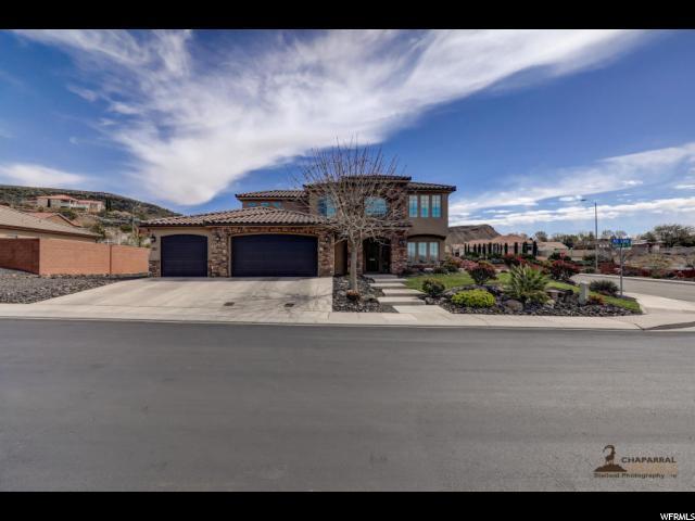 587 S Ali Ln, Washington, UT 84780 (#1588172) :: Big Key Real Estate