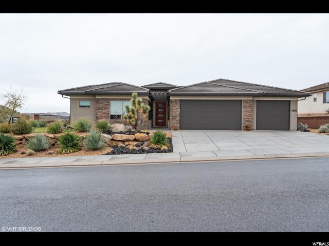 5966 S Desert Crest Drive, St. George, UT 84790 (#1588656) :: Bustos Real Estate | Keller Williams Utah Realtors