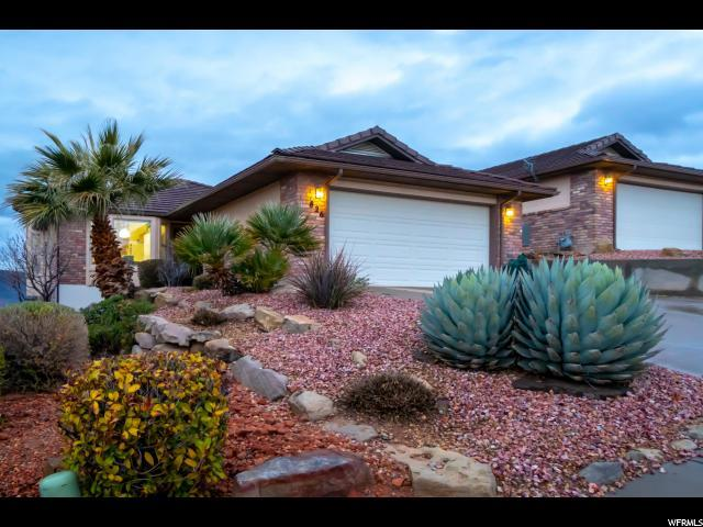 826 W Sir Monte Dr, St. George, UT 84770 (#1589532) :: Action Team Realty