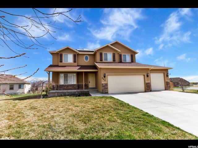 642 N Fox Cir, Saratoga Springs, UT 84045 (#1590107) :: goBE Realty