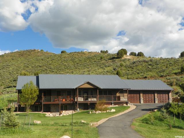 615 E Cherry Canyon Dr, Wanship, UT 84017 (MLS #1590120) :: High Country Properties