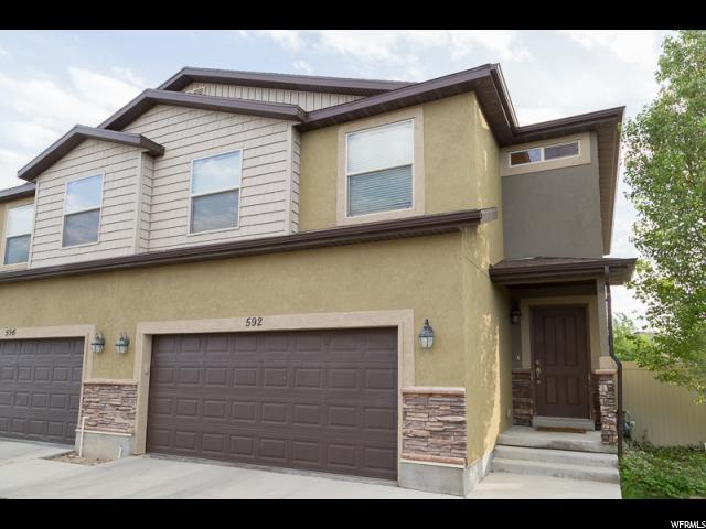 592 W Goldenrod Way N, Saratoga Springs, UT 84045 (#1590153) :: The Canovo Group